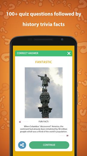 History Trivia Quiz 5.0.0 screenshots 4