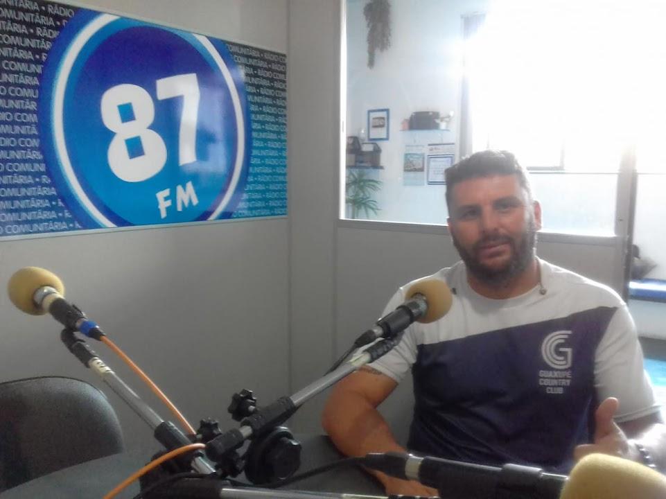 Rodrigo Stampone, o popular prof. Diguita