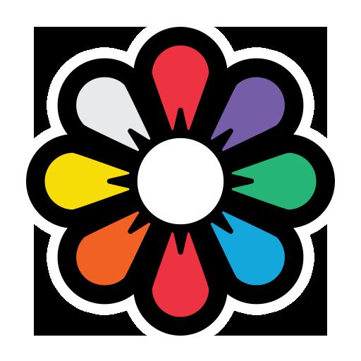 Recolor - Coloring Book Icon
