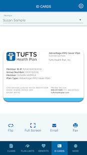 Tufts Health Plan- screenshot thumbnail