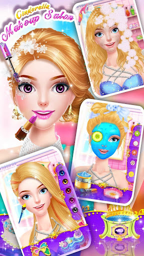 Cinderella Fashion Salon - Makeup & Dress Up 1.5.3151 screenshots 21