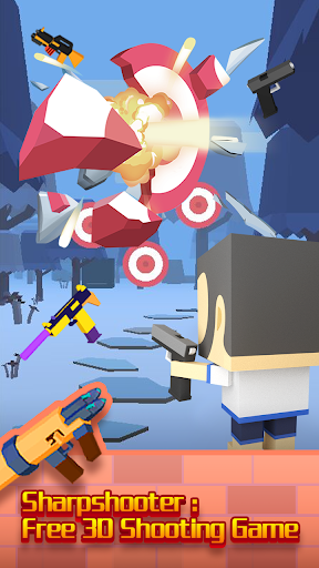 Sharpshooter: Free 3D Shooting Game screenshots 1