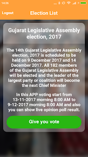 Election India : Give your valuable vote - náhled