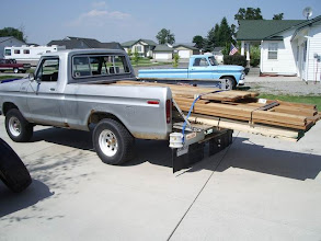 Photo: My old truck with the first load of lumber...