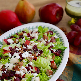 Perfect Autumn Chopped Salad