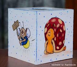 Photo: wooden TISSUE BOX 4