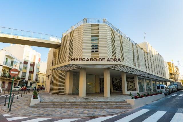Imagen exterior del Mercado de Adra.