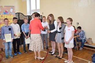Photo: Zakończenie roku szkolnego klas IV-VI - stypendyści Dyrektora ZSS nr 1