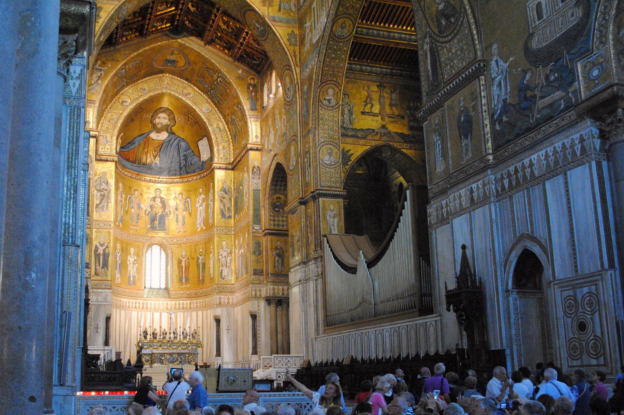 My Photos: Italy -- Sicily -- Palermo -- Monreale -- Cathedral Interior