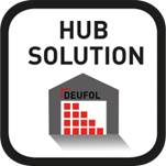 Je goederenflows bezorgen je kopzorgen? Deufol HUB is de oplossing!