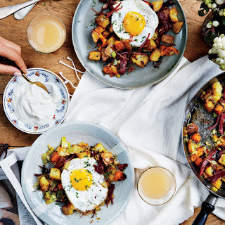 Pastrami and Potato Hash with Fried Eggs Recipe