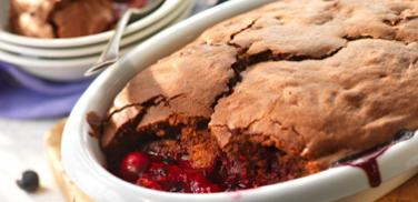 Photo: Chocolate Summer Fruit Pudding http://cadbury.co.uk/recipes/puddings/Pages/Choc-Summer-Fruit-Pudding.aspx