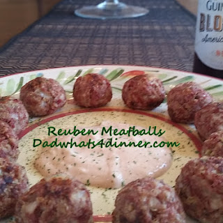 Reuben Meatballs.