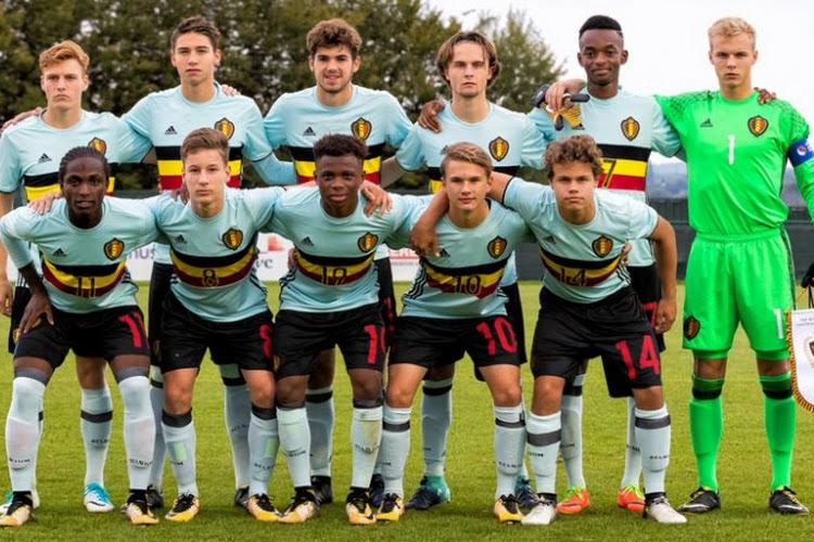 Les U17 belges connaissent la composition de leur poule à l'Euro