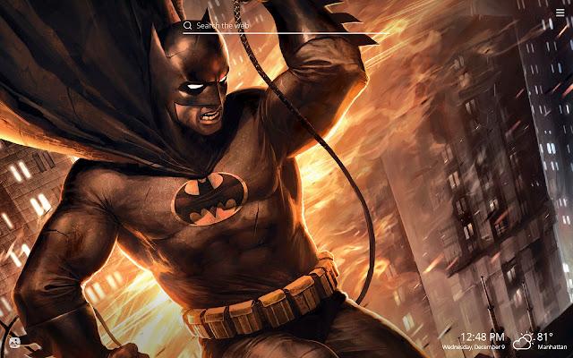 Batman HD Wallpapers New Tab Theme