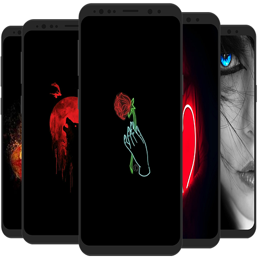 Black Wallpapers 4k Dark Backgrounds Apl Di Google Play