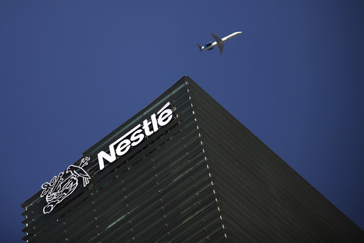 The Nestlé logo on the company's building in Mexico City. Picture: REUTERS