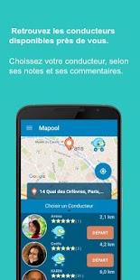 Mapool : co-motorage urbain screenshot
