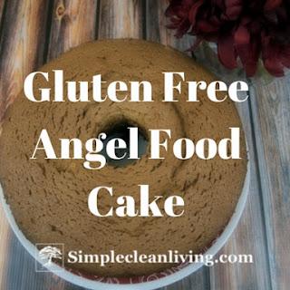 Gluten Free Angel Food Cake.