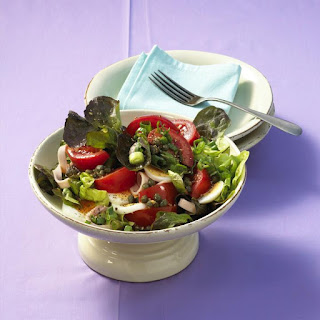 Ham, Egg and Tomato Salad