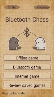 Bluetooth chess- screenshot thumbnail