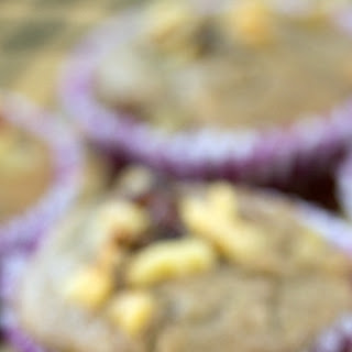 Banana Walnut Muffins.
