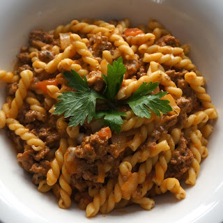 Pasta With Ground Turkey Recipes.