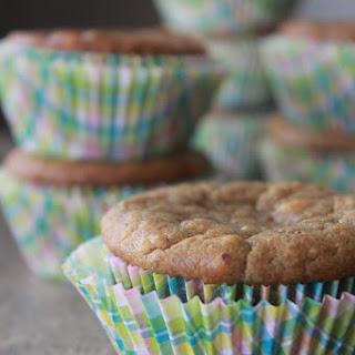 Flourless Banana Peanut Butter Muffins..