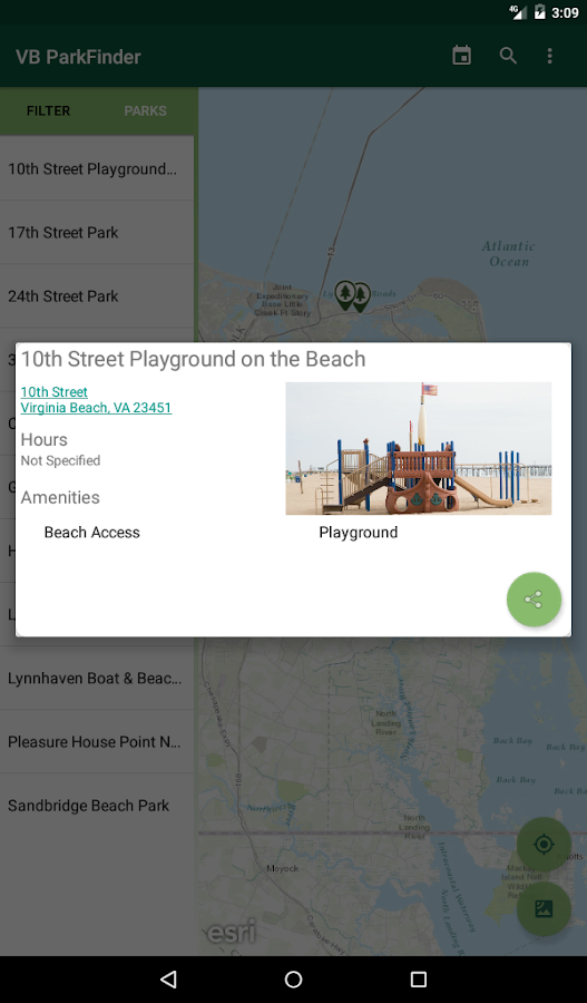 VB ParkFinder- screenshot