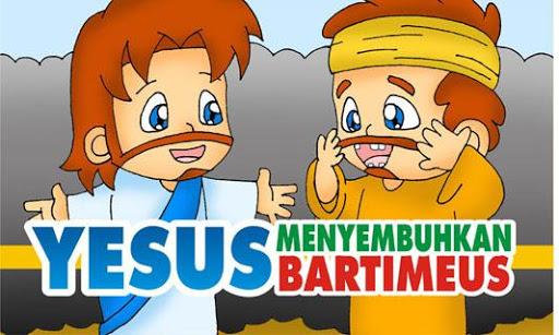 YESUS Menyembuhkan Bartimeus