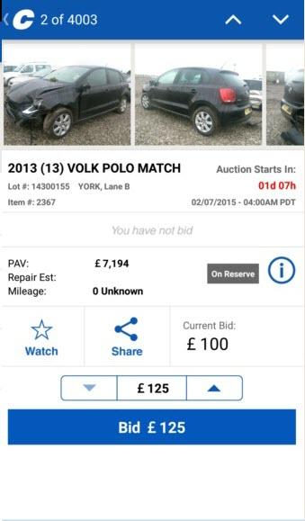 Copart – Salvage Car Auctions- screenshot
