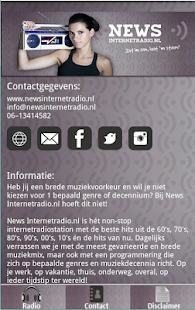 News Internetradio.nl- screenshot thumbnail