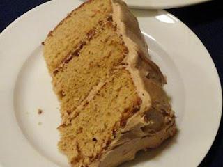 Aunt Susan's Caramel Cream Cake Recipe