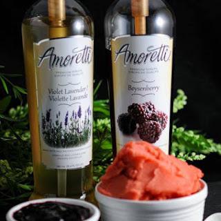 Watermelon Boysenberry and Blackberry Lavender Violet Sorbets Recipe