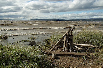 Photo: Looking across the Lake