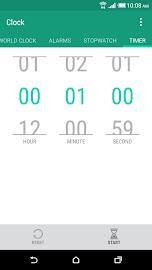 HTC Clock Screenshot 4