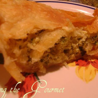 Parsley, Onion and Cheese Quiche