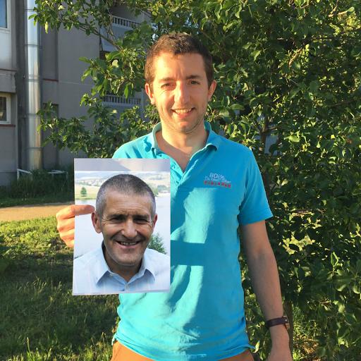 Paul est parrainé par Yves pour soutenir le projet de L'Arche à Clermont-Ferrand !