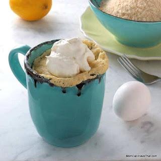 Low Carb Lemon Mug Cake Mix (Sugar-free Lemon Cake Mix).