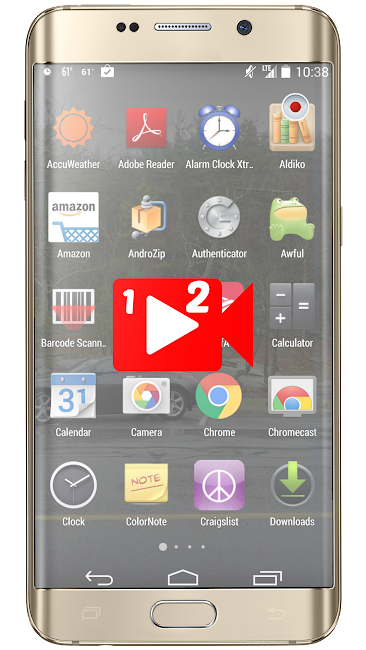#2. Total Screen Recorder (Android)
