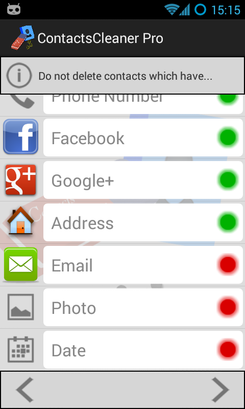 Contacts Cleaner Merge & Clean- screenshot