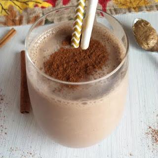 Chocolate Spiced Milkshake Vegan and Gluten Free.