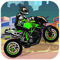 Downhill Moto - Traffic Smash icon