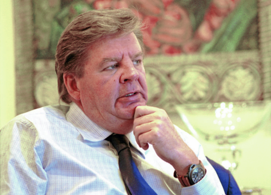 Johann Rupert. Picture: GALLO IMAGES/LOUISE GUBB