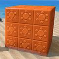 紋章ブロック・太陽