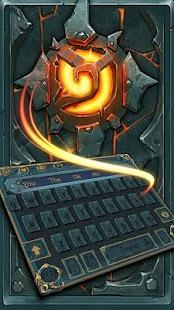 Rune keyboard Athena keyboard Shabby metalkeyboard - náhled