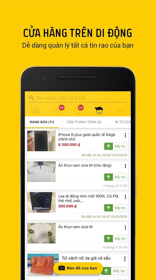 Cho Tot - Shopping, Buy & Sell- screenshot