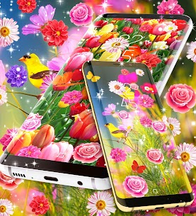 Spring live wallpapers Apk  Download For Android 6