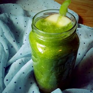 Celery Ginger Green Smoothie.