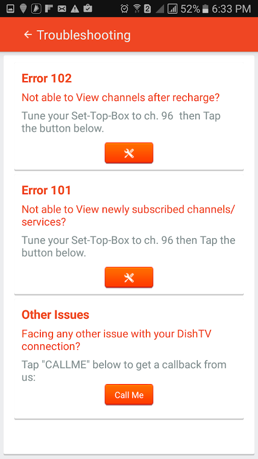 My Account-DishTV- screenshot